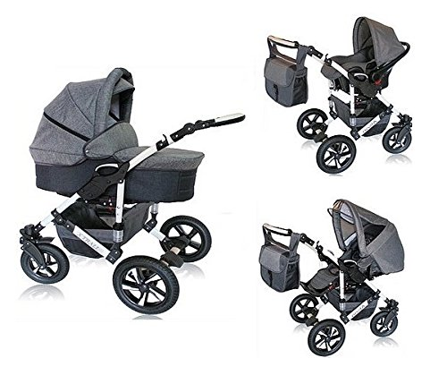 carritos de bebe 3 piezas